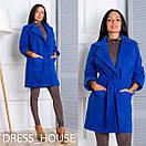 Женское кашемировое пальто оверсайз в расцветках p-5pt77, фото 4
