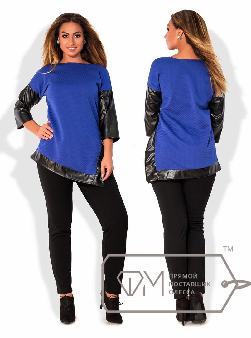 Модная женская кофта в батальных размерах (несколько цветов) r-15ba775