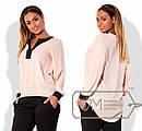 Яркая женская шифоновая блуза в больших размерах t-15ba776, фото 2