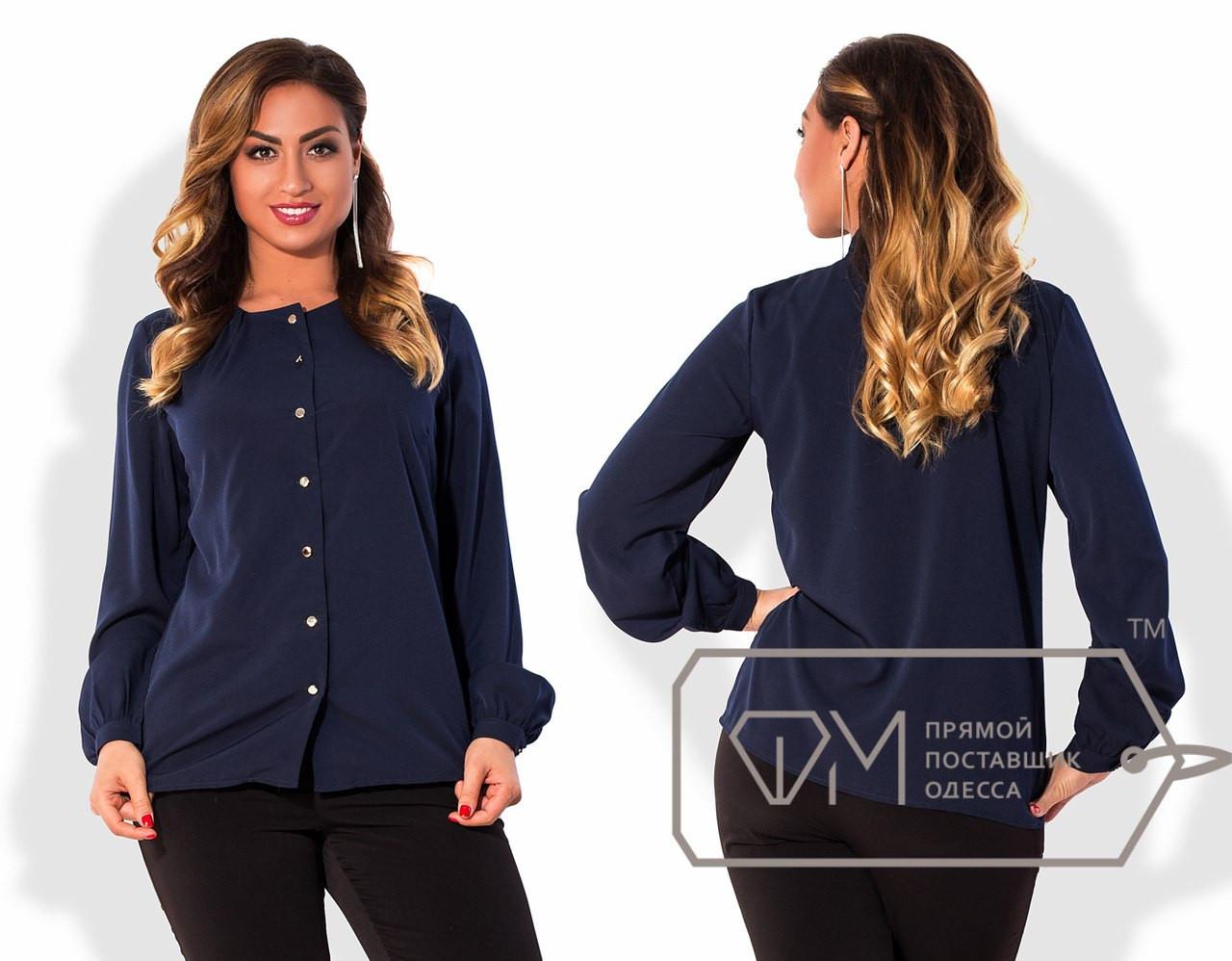Стильная женская рубашка в больших размерах m-15ba825