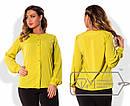 Стильная женская рубашка в больших размерах m-15ba825, фото 3