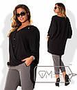 Легкая женская блуза в больших размерах r-15ba828, фото 4