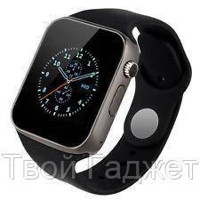 ОПТ/Розница Смарт-часы с Bluetooth и камерой SMART WATCH A1 OEM black ' 4
