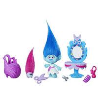 Trolls тролли Парикмахерская Медди DreamWorks Maddy's Hair Studio Story Pack