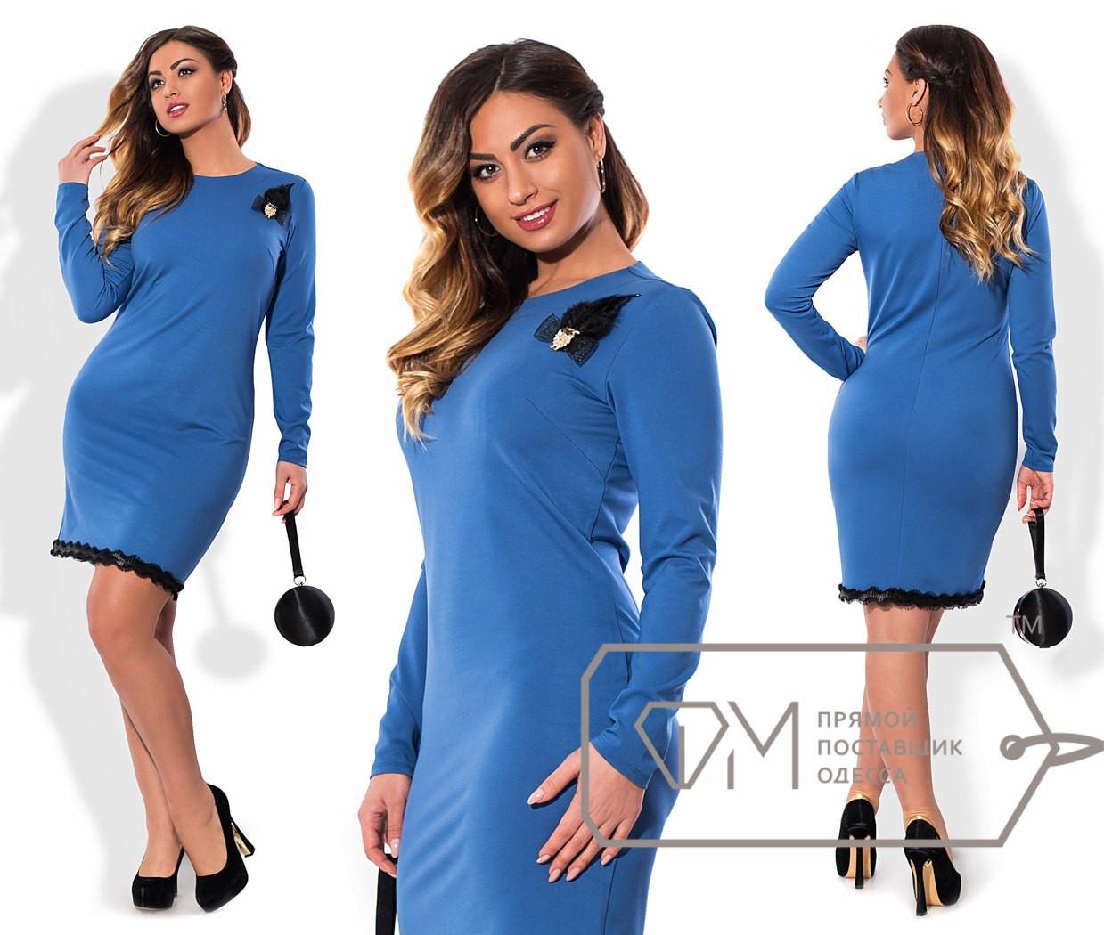 Стильное женское платье  Батал н-15ba969