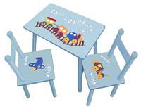 Стол +2стула W02-882(H917)
