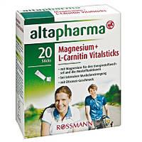 Altapharma Magnesium + L-Carnitin Vitalsticks -  Магний + L-карнитин
