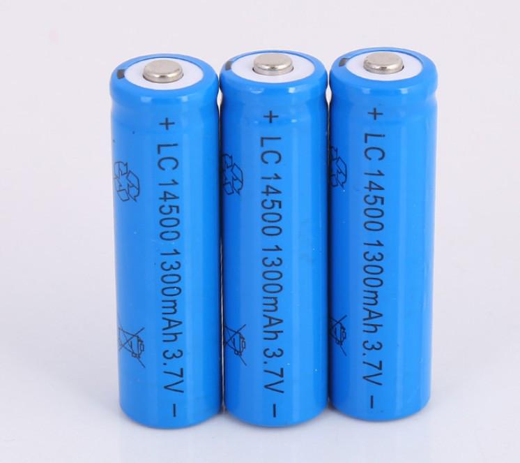 Аккумулятор 14500 1500 mAh 3,7V синий