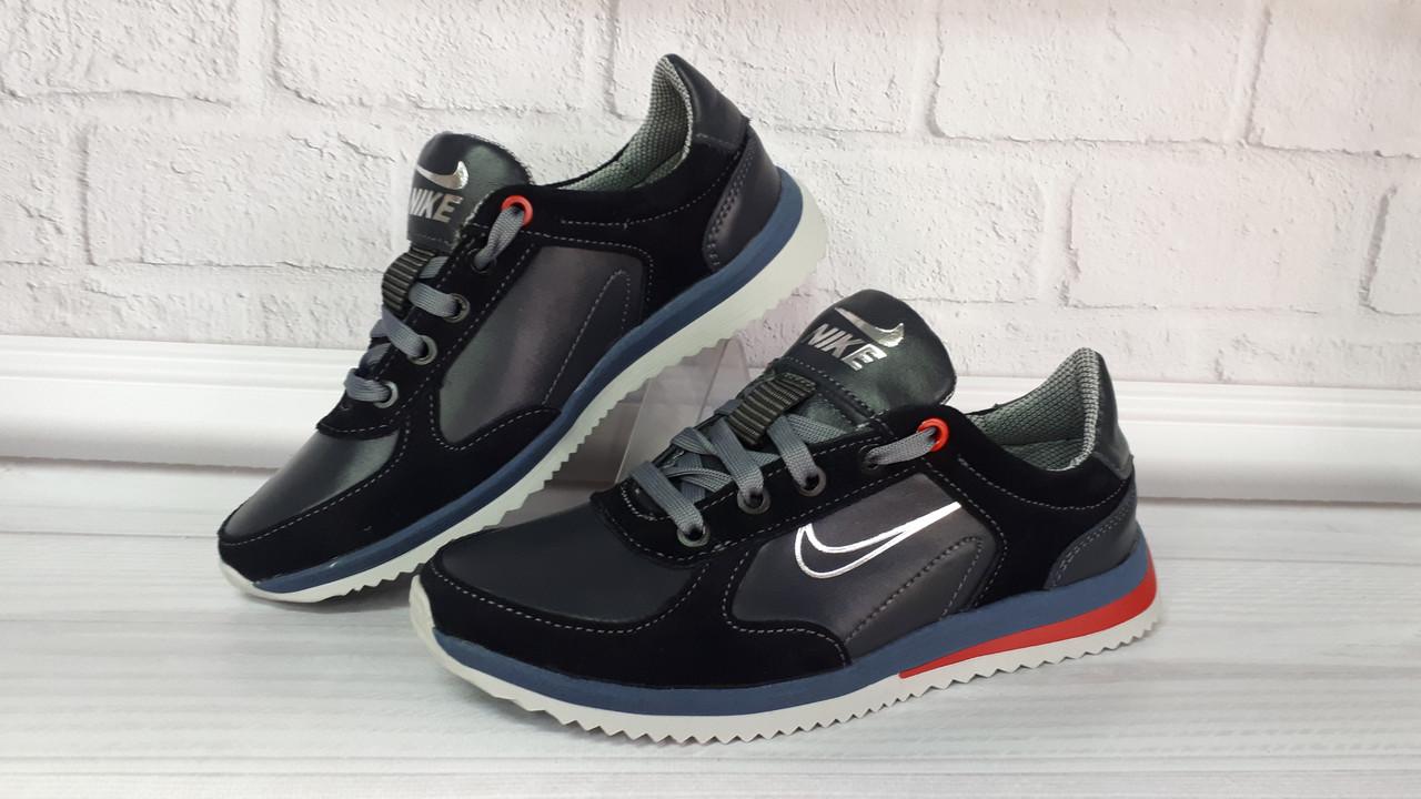 d6dcb75f Подростковые кожаные кроссовки Nike. Украина - Интернет-магазин
