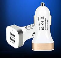 USB прикуриватель 12V 2,1A на 2 выхода без упаковки, фото 1