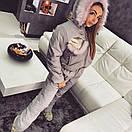 Зимний женский комбез и-18gk37, фото 2