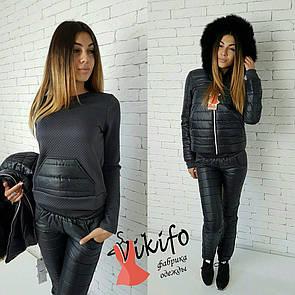 Зимний женский костюм тройка у-20gk43