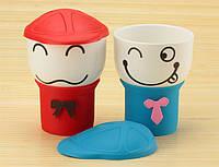 Чашка с кепкой