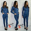 Женский джинсовый комбинезон у-20ks480, фото 2