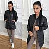 Женская куртка из плащевки на кнопках в расцветках. ОК-3-0818, фото 4