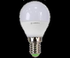 Cветодиодная лампа  Ledex G45-6W-E14-600lm-4000K-(LX-101567)