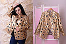 Женская куртка большого размера е-t10ba1178, фото 3