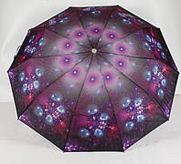 Зонт женский механический 3 сложения Calm Rain, фото 1