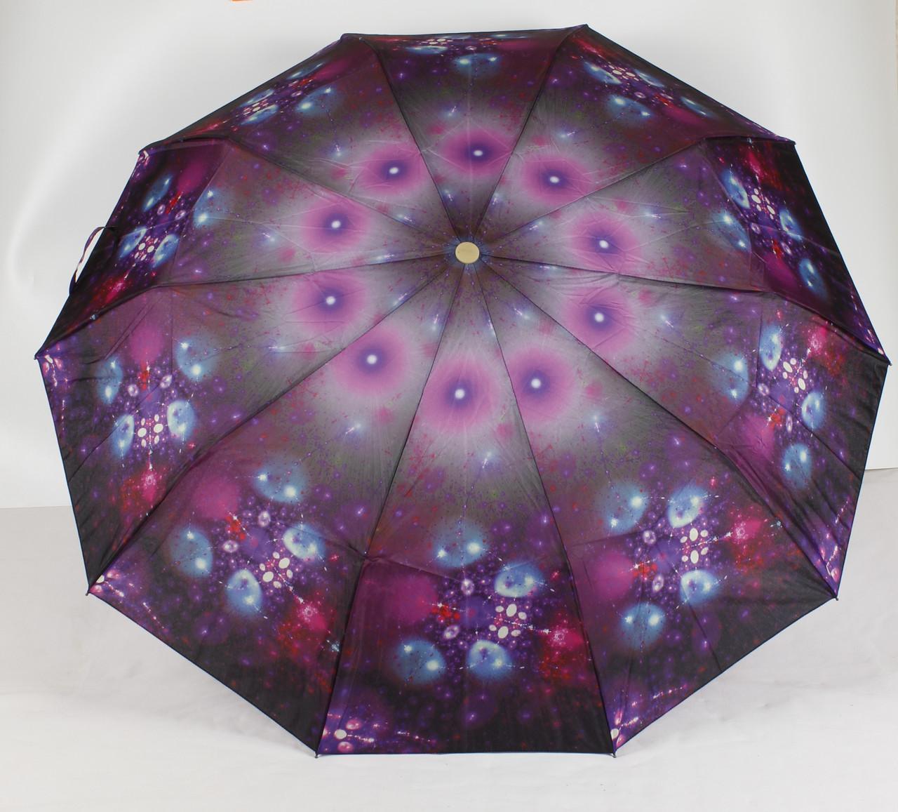 Зонт женский механический 3 сложения Calm Rain