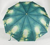 Зонт жіночий механічний 3 складання Calm Rain, фото 1