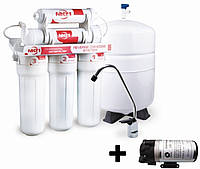 Обратноосмотический фильтр с насосом Filter1  МO 5-36