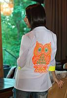 Женский пиджак с вышивкой у-t61pk234