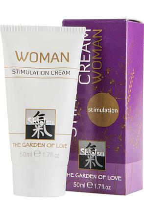 Возбуждающий крем для женщин Shiatsu Geisha's Dream, 50 мл, фото 2