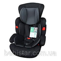 Детское автокресло черное BABYCARE Comfort BC-11901 Black