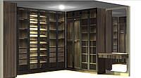 Шкаф в гардеробную с дверями. Гардеробная комната G-0013, фото 1