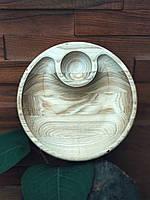 Деревянные круглые блюда , фото 1