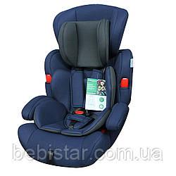 Детское автокресло синее BABYCARE Comfort BC-11901 Blue