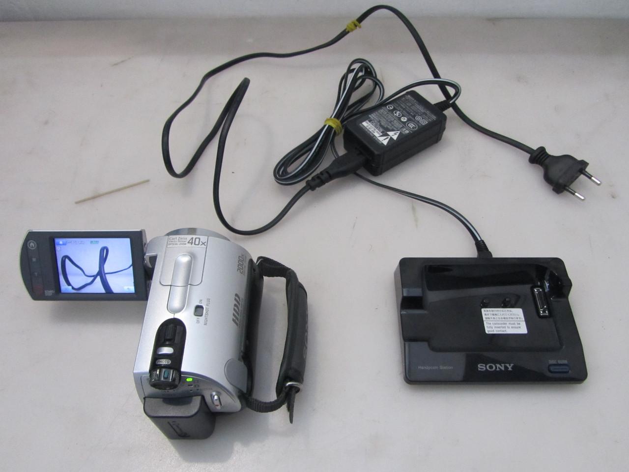 Видеокамера Sony DCR-SR42 с жестким диском, отличный зум