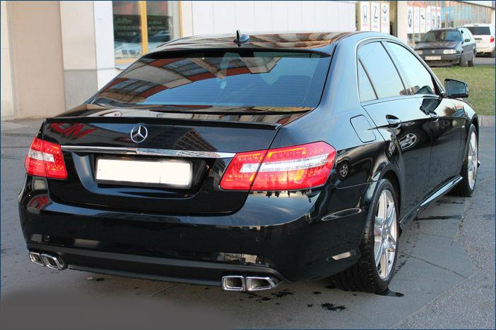 "Бампер задній ""AMG"" Mercedes E-class W212"