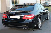 """Бампер задний """"AMG"""" Mercedes E-class W212"""
