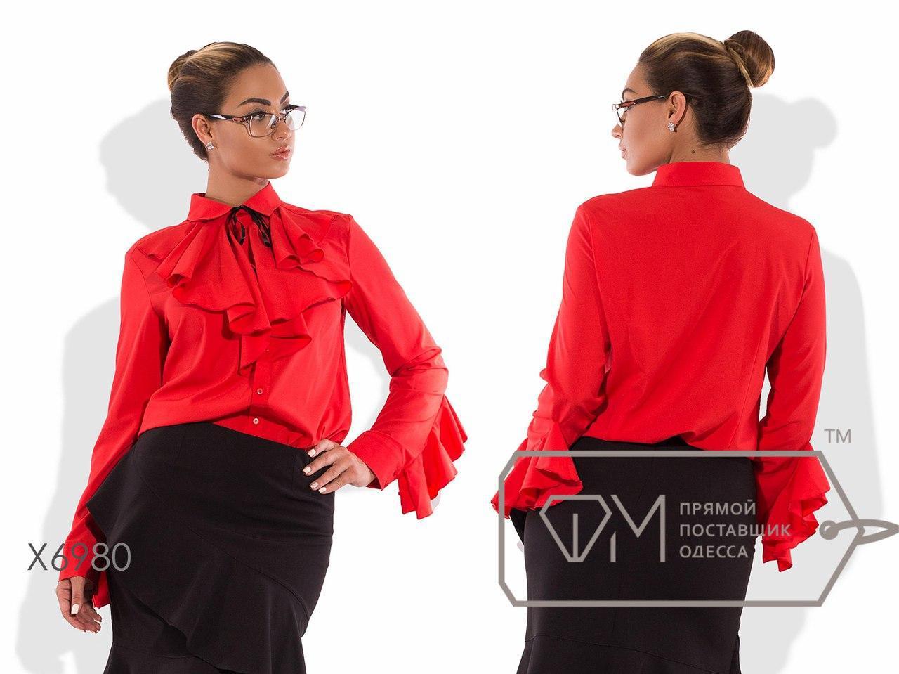 Деловая женская блуза большого размера н-t15ba98