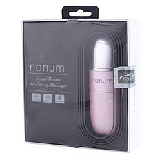 Портативный ультразвуковой увлажнитель Nanum с функцией массажадля лица3.7В400 мА (SUN0006)