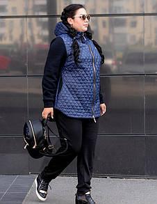 Женская куртка в больших размерах w-10ba133