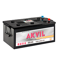 Аккумуляторы для грузовиков автомобилей AKVIL STANDARD 6CT-225Aз 1200A L