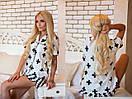 Женская принтованная пижама из хлопка в расцветках 31dd01, фото 2