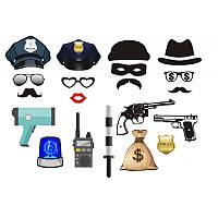 """Фотобутафория """"Поліція"""" (20шт/уп)"""