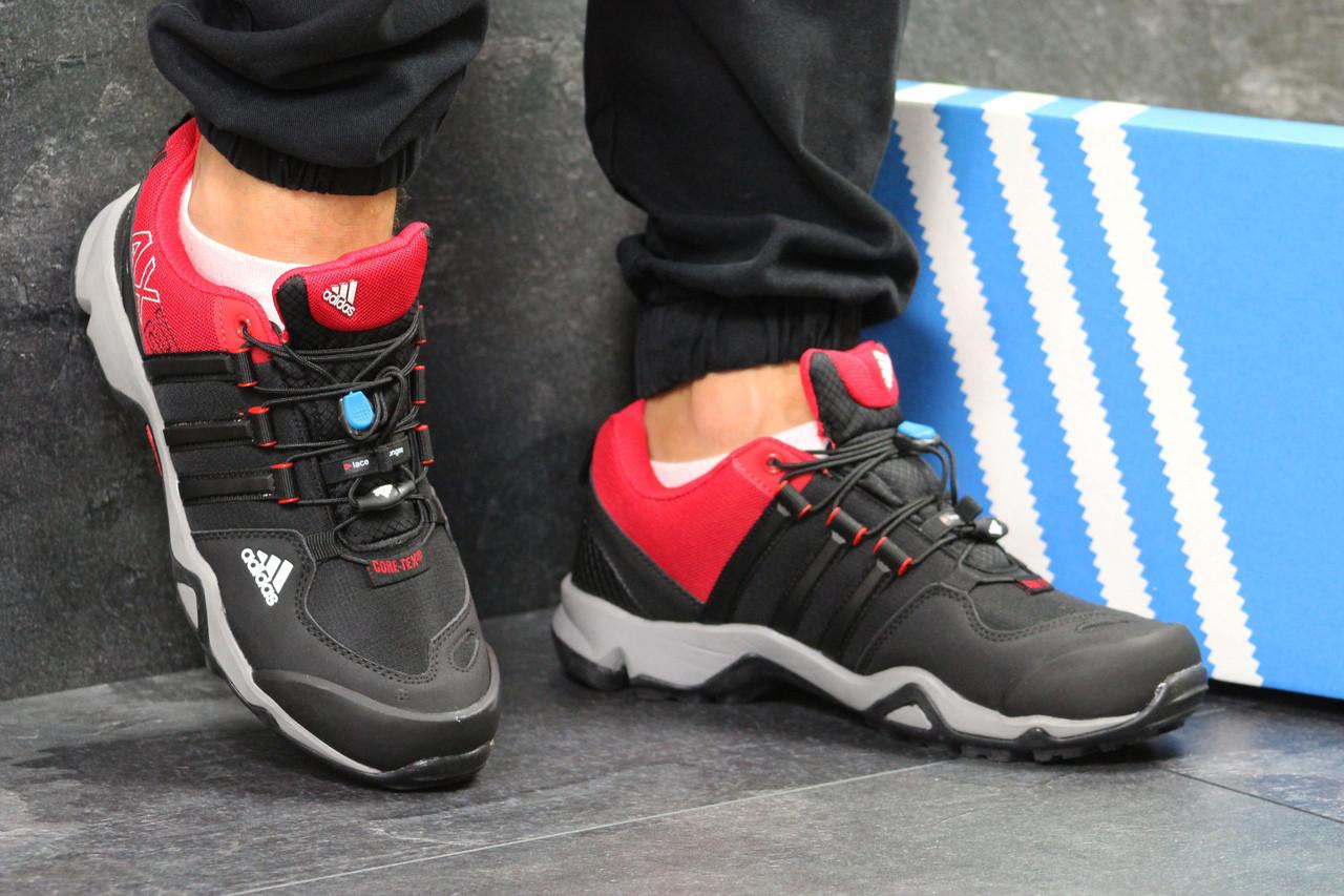 1d015ea4 BT.Yavshoke.ua™ | Кроссовки мужские черно-красные Adidas AX2 5870 ...