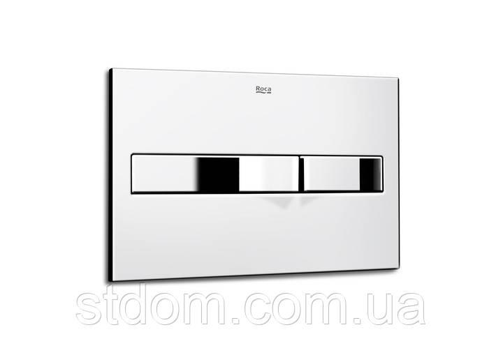 Кнопка слива двойная Roca A890096001 хром