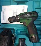 Шуруповерт акумуляторний Craft-tec PXCD-122Li. Крафт-Тек, фото 3