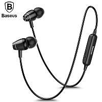 Оригинальные Bluetooth наушники гарнитура Baseus Encok S09 Black