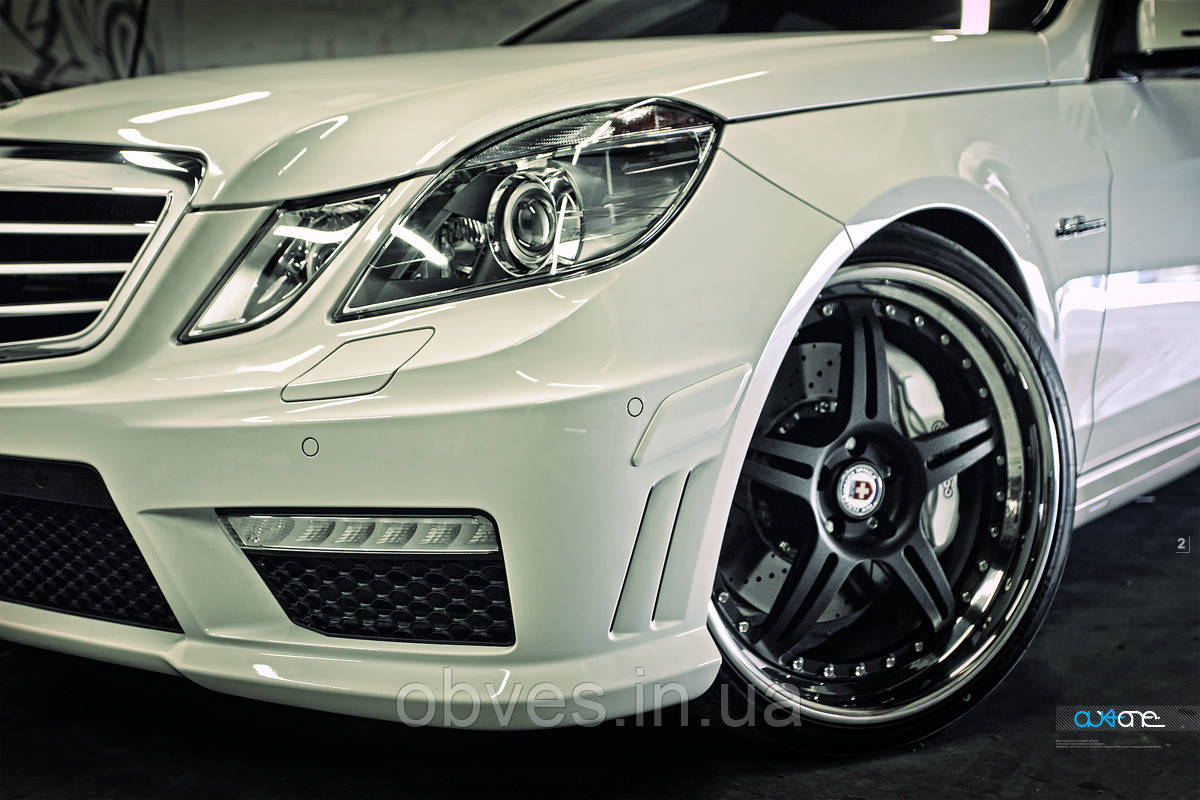 "Бампер передний ""AMG"" Mercedes E-class W212 (2009-2013)"