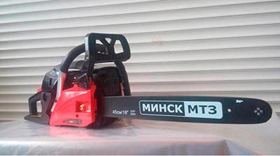 Бензопила Мінськ МШП-6900 МТ3 Метал Праймер 1 Шина + 1 Ланцюг