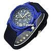 Мужские наручные часы Армия черный,  хаки, синий цвета