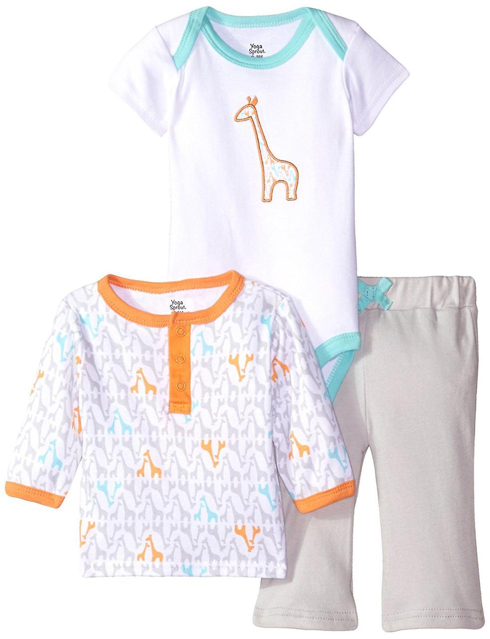 "Комплект детский ""Жираф"" 6-9,12-18мес. Yoga Sprout (США)"