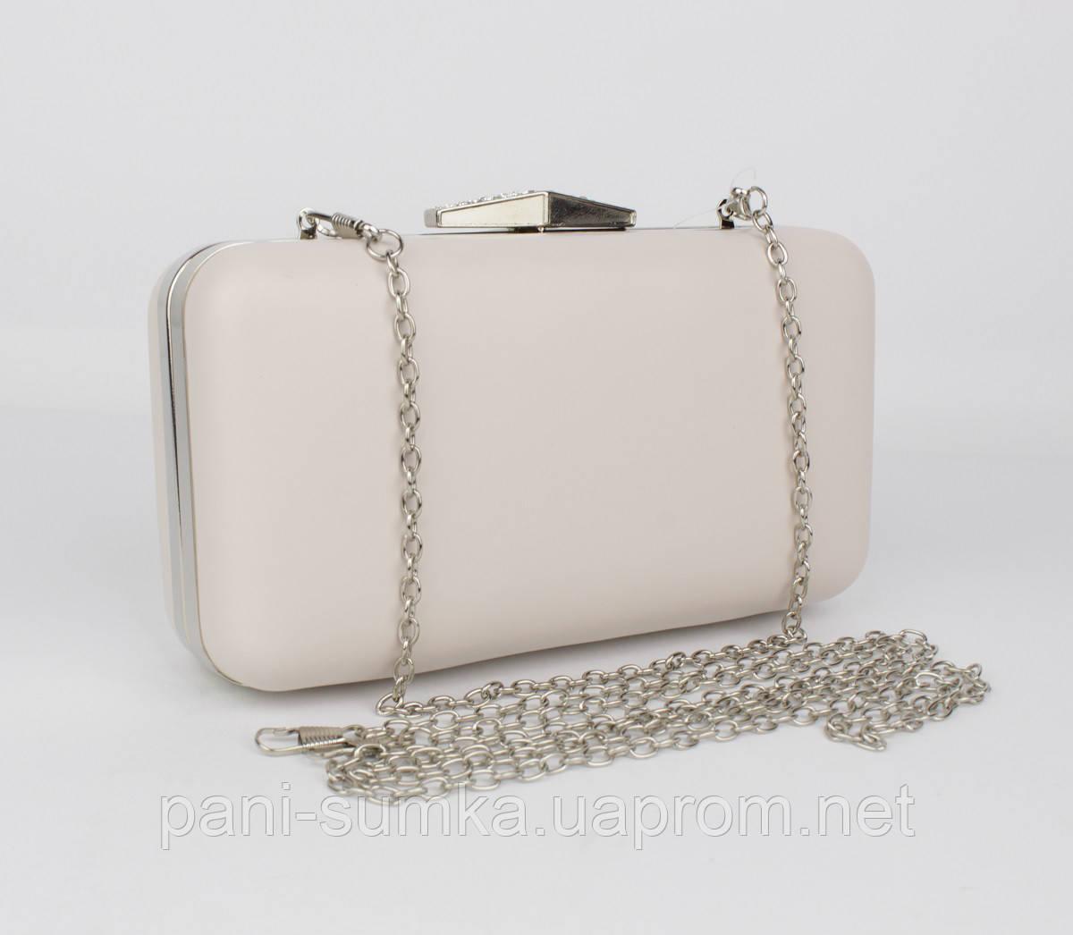 aa70e6de6c49 Вечерний клатч Rose Heart 09829-2 светло-бежевый, сумочка на цепочке -  Интернет