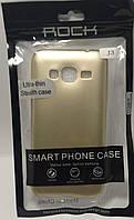 Силіконовий чохол Rock Samsung Galaxy J320 золотий